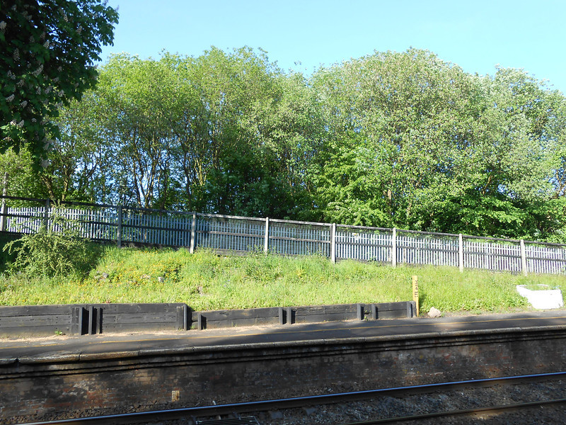 Pic by Liz <br /> <br /> Looking across to the Manchester bound platform
