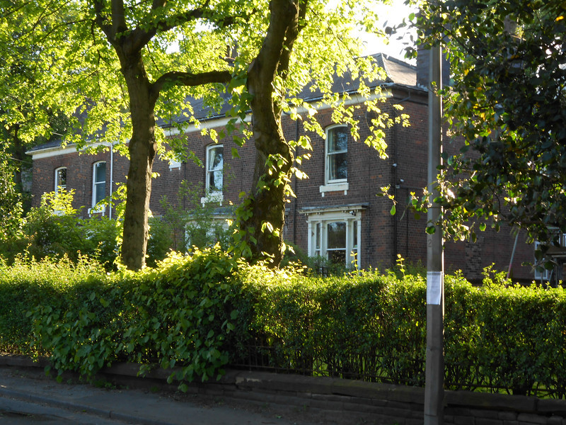Pic by Liz <br /> <br /> Shot of some of the few houses that where around outside Clifton on Rake Lane
