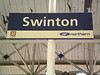 We walked back to Swinton that if you need to know took just <br /> <br /> Over 30 mins at a sedate pace <br /> <br /> But we arrived here at 19.19 and the next train to Wigan wasn't till 19.48 which was a bummer a bit