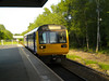 142 056 <br /> <br /> arrives Swinton on the 19.35 Man Vic - Wigan Wallgate