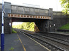 Pic by Liz <br /> <br /> Looking towards Bolton under Rake Lane Road Bridge