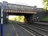 Pic by Liz <br /> <br /> Looking towards Bolton under Rake Lane Road Bridge