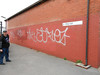 pic by Liz <br /> <br /> the Graffiti on the wall