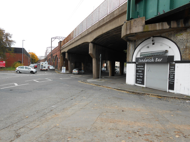 pic by Liz <br /> <br /> showing Devonshire Road North Blind lane is to the right out of sight