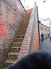 pic by Liz <br /> <br /> This was actually taken on the way out but i put it in here because it <br /> <br /> tells the story better once you get to the top of the path you have to <br /> <br /> then go up the steps and you still nowhere near the platforms when <br /> <br /> you get to the top of the steps