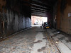 pic by Liz <br /> <br /> Blind Lane that leads to Ardwick station