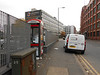 Pic by Liz <br /> <br /> this shot shows Devonshire Street North looking towards the jct with <br /> <br /> Hyde road and the Stage Coach bus Garage  the actaul entrance to <br /> <br /> Ardwick is behind us you if you are doing it by bus you must get off <br /> <br /> by the Stage Coach bus garage and then walk down devonshire <br /> <br /> street north
