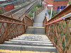 pic by Liz <br /> <br /> the long rather rough in places steps down towards the exit