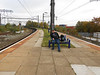 Pic by Liz <br /> <br /> The Ghost Station Man sits waiting for the next train not that there are that many