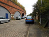 pic by Liz <br /> <br /> Top of Blind Lane Ardwick entrance is just to the right where that Blue car is