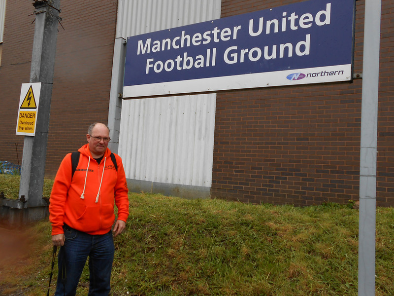 Ghost Station Man at Manchester United Football Ground Platform at <br /> <br /> Last and well worth the wait and we where in for a great time here as <br /> <br /> the rest of the Pictures prove<br /> <br /> Made up to hit the # 33 mark with this station
