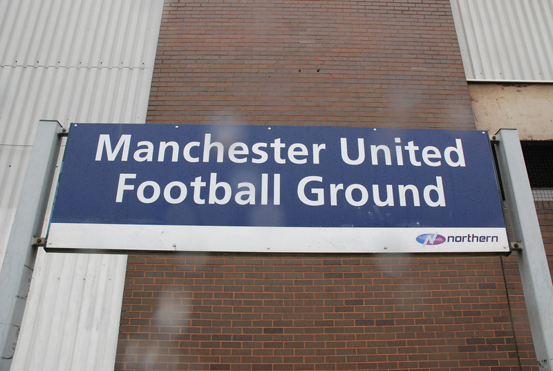 """Manchester United Football Ground Platform <br /> <br /> Liz Station # 20 <br /> <br /> GSM # 33<br /> <br /> Location <br /> <br /> Manchester United Football Ground <br /> <br /> Address: <br /> <br /> Sir Matt Busby Way<br />  <br /> Old Trafford<br />  <br /> MANCHESTER<br />  <br /> Greater Manchester<br />  <br /> M16 0QG <br /> <br /> Nearest Tram Stop: <br /> <br /> Trafford <br /> <br /> This is the Link off National Rail enquiry's Station database list for <br /> <br /> Manchester United Platform <br /> <br /> <a href=""""http://www.nationalrail.co.uk/stations_destinations/MUF.aspx"""">http://www.nationalrail.co.uk/stations_destinations/MUF.aspx</a><br /> <br /> This was a station that i'd had on the radar for a while now but wasn't <br /> <br /> sure if we could actually do it or not but after extensive research we <br /> <br /> got it done and it was a great day despite the drizzlely rain but well <br /> <br /> worth getting wet for"""