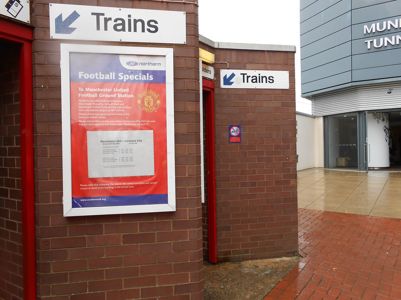 Picture by Liz <br /> <br /> Shot showing the entrance gates to the platform