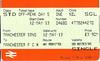Single ticket <br /> <br /> Manchester Piccadilly - Manchester United Platform