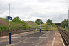 Guide Bridge end of the Platform the platform actually extends quite <br /> <br /> a way past that fence though it very overgrown picture taken 8th <br /> <br /> July 2011