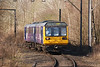 142039 <br /> <br /> Eases around the Curve on the Denton Line heading for Guide <br /> <br /> Bridge Jct and Guide Bridge Station <br /> <br /> Date: 5th April 2013 <br /> <br /> working 2J45 10.13 Stockport - Stalybridge Ghost Train move