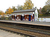 pic by Liz <br /> <br /> close up shot of the rather nice station building at Reddish North