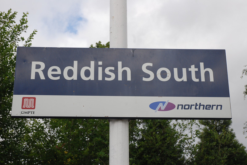 Reddish South now has a proper Northern Logo sign as seen above on the platforms