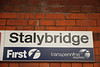 Stalybridge<br /> <br /> Journeys end <br /> <br /> Address: <br /> <br /> Rassbottom Street<br />  <br /> STALYBRIDGE<br />  <br /> Greater Manchester<br />  <br /> SK15 1RF <br /> <br /> The Ghost train normally arrives in the far side Bay plat 3