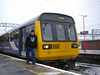 Ghost Station Man is seen next to <br /> <br /> 142 001 + 142007 <br /> <br /> Working 2J45 10.13 Stockport - Stalybridge Ghost train <br /> <br /> unusally going from the bay plat 3a on this day <br /> <br /> Date 18th Jan 2013 <br /> <br /> Thanks to Geoff Bell for taking the picture