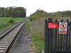 picture by Liz <br /> <br /> Looking towards Blackpool from the Blackpool bound platform showing the size of platform that is no longer used