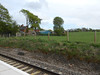 Picture by Liz <br /> <br /> There where a few houses just across from the Blackpool<br /> <br /> bound platform as seen by Liz 's picture above