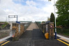 The exit ramp and way out at Salwick very similar to Dunston Ghost Station in Newcastle