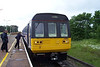 142 060 <br /> <br /> Location Salwick <br /> <br /> Date 22nd June 2006 <br /> <br /> Arrives on the 15.53 Blackpool South - Colne service<br /> <br /> amazingly people actually got on