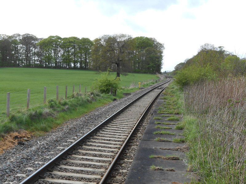 picture by Liz <br /> <br /> Showing the remains of the abandoned part of the Blackpool Bound platform
