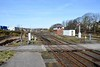 Barrow-in Furness station, 14 March 2017 2.  Looking north west towards the carriage sidings.