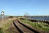 Ramsden dock branch, Barrow-in-Furness, 14 March 2017 1.  Here are 12 views of this little used branch.  This one looks north east along the Network Rail track towards Salthouse Junction.  Cavendish dock is at right.