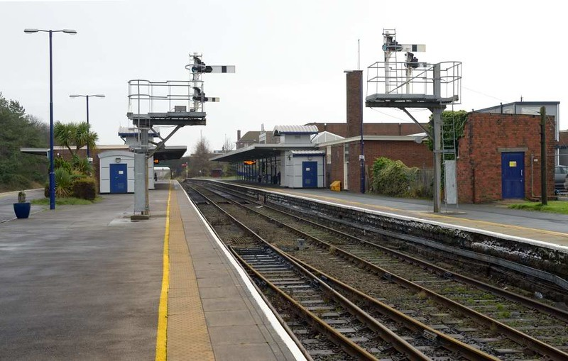 Barrow-in-Furness station, 1 December 2015 3.  Looking south east.