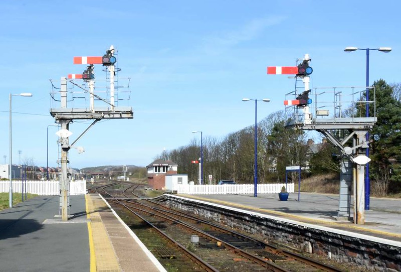 Barrow-in-Furness station, 14 March 2017 1.