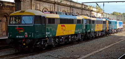 Crewe trains, September 2009