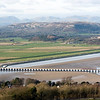 156xxx, Arnside, 26 February 2007.  This view of Northern's 1607 Lancaster - Carlisle setting off for Barrow gives an idea of the length of the viaduct.