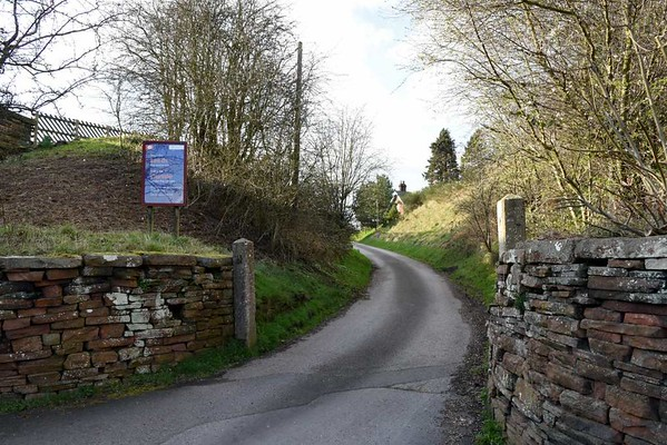 Lazonby & Kirkoswald station, 23 March 2017 2.  Access to the up platform.