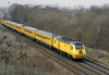 43062 John Armit & 43014, 1Q40, Carlisle, Sat 25 February 2012 - 1452.  Netwrok Rail's New Measurement Train passes Durranhill as it heads towards Hexham with a Derby - Settle - Carlisle - Heaton working.