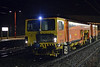 DR 73909 Saturn, Lancaster, Wed 8 January 2014 - 2221.  Colas's Plasser & Theurer 08-4x4/4S-RT switch and crossing tamper.