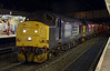 37194 & 37606, 6K73, Lancaster, Thurs 2 January 2013 - 2006.  DRS's Sellafield - Crewe flasks, about 50 minutes late.