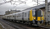 350402, 5M95, Carnforth, Wed 1 January 2014 - 1437.  The return leg of the 350's maiden run, from Preston to Carlisle.