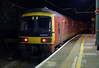 325003, 1M03, Lancaster, Thurs 2 January 2013 - 1948.  DB Schenker's 1749 Shieldmuir - Warrington mail runs past platform 5, its normal route on the up fast being occupied by 56312.