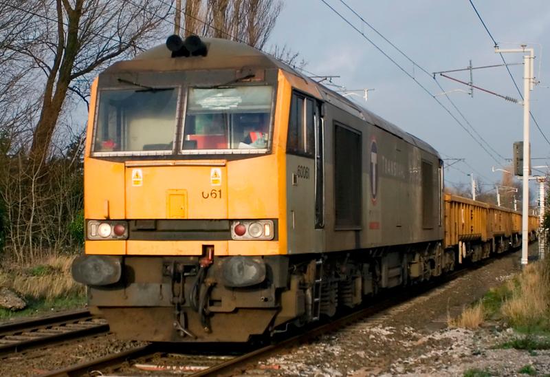 60061, 6K05, Carnforth, 11 January 2007 - 1423