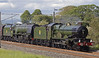 5043 Earl of Mount Edgecumbe & 46233 Duchess of Sutherland, 1Z39, Holme, Sat 15 June 2013 - 1709 2.