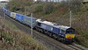 66301, 4M44, Greenholme, Wed 23 October 2013 - 1248.  DRS's 0847 Mossend - Daventry.