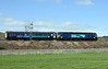 57002 Rail Express & DBSO 9710, 5Z30, Carnforth, Tues 4 April 2017 - 1334 1.  DRS's 0930 Derby - Kingmoor move.