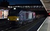68022 Resolution, 6C18, Lancaster, Wed 4 January 2017 - 0724.  DRS's 0303 Basford Hall - Carlisle yard departmental, running 156 minutes late because of the 6M02 problem at Acton Grange. 68022 subsequently replaced defective 68002 at Kingmoor on 4S43.