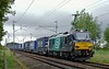 88006 Juno, 4S43, Canforth, Wed 5 July 2017 - 0952.  DRS's 0616 Daventry - Mossend Tesco express.