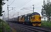 37025 Inverness TMD & 37219 Jonty Jarvis, 1Z39, Carnforth, Sat 1 July 2017 - 1838.  The return leg of the Scottish RPS's Edinburgh - Blackpool North jolly.