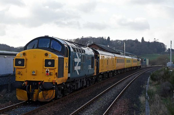 37116 & 37025 Inverness TMD, 1Q82, Lazonby & Kirkoswald, Thurs 23 March 2017 - 1625 2.