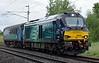 68008 Avenger, 5Z02, Carnforth, Wed 28 June 2017 - 1546.  DRS's 1346 Gresty Bridge - Kingmoor move with coach 5919.